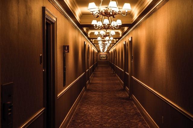 hotel w środku